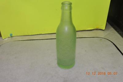 Antique Home Bottling Co Embossed Swastika Good Luck Soda Bottle Tulsa Ok
