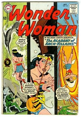 Wonder Woman #141 (1963) VG+ New DC Silver Age Collection