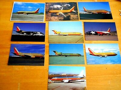 Southwest Airlines.......10.....postcards...