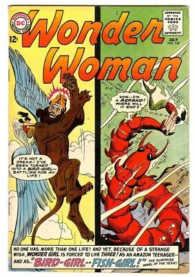 Wonder Woman #147 (1964) F/VF New DC Silver Age Collection