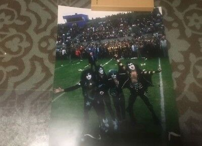 Kiss Day in Cadillac Michigan Giclee Print 12x16 Gene Simmons Peter Criss 1975