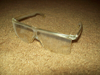 John Deere Tractor Farm Equipment Factory Tour Clear Plastic Safety  Glasses