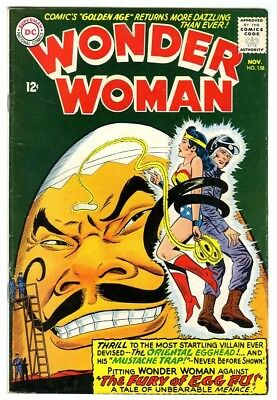 Wonder Woman #158 (1965) F/VF New DC Silver Age Collection