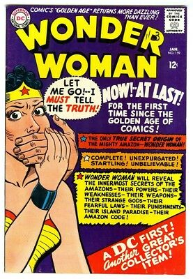 Wonder Woman #159 (1966) VF+ New DC Silver Age Collection