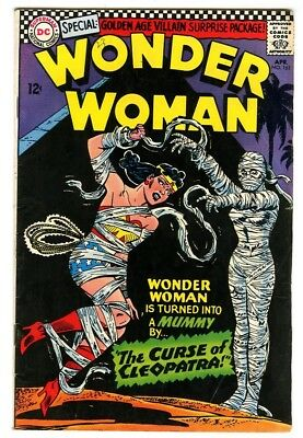 Wonder Woman #161 (1966) Fine- New DC Silver Age Collection