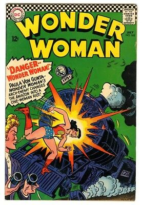Wonder Woman #163 (1966) F/VF New DC Silver Age Collection