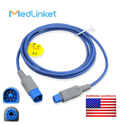 MED-LINKET Beta Biomed Compatible SpO2 Adapter Cable - B400-0601