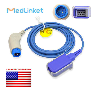MED-LINKET Masimo Compatible SpO2 Adapter Cable - 226