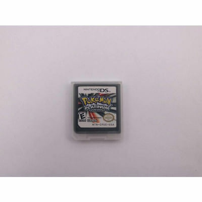 Pokemon Platinum 3DS NDSi NDS Lite Game Card Gifts US Version