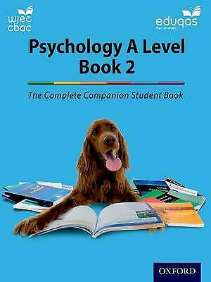 The Complete Companions for WJEC and Eduqas Year 2 A Level Ps... - 9780198356110