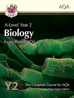 A-Level Biology for AQA: Year 2 Student Book with Online Edition - 9781782943242