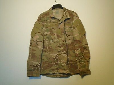 Us Army Combat Uniform Coat Multicam Flame Resistant 2012 Medium Regular 16-O