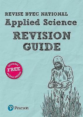 BTEC National Applied Science Revision Guide - 9781292150048