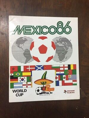 Mexico 86 PANINI official World cup album complete