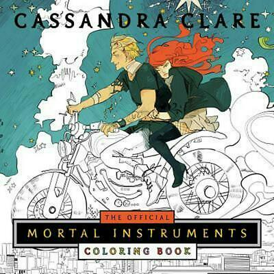 Official Mortal Instruments Coloring Book by Cassandra Clare (English) Paperback
