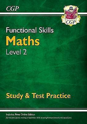 Functional Skills Maths Level 2 - Study & Test Practice - 9781782946335