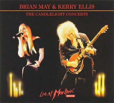 Audio Cd Brian May & Kerry Ellis - The Candlelight Concerts: Live At Montreux 20
