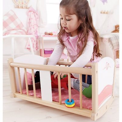 Hape Rock-a-bye Baby Cradle XTRA 5% OFF USE P5OFF @ CHECKOUT