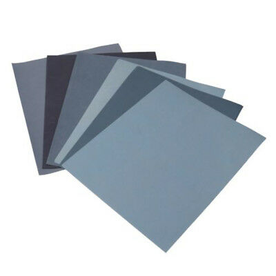 12x Wet And Dry Paper 8000,5000,3000, 2500, 2000, 1500, GRIT Blue Sandpaper
