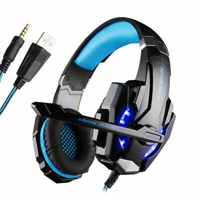 Headset Mic Tablet PC PlayStation PS4 Gaming 3.5mm FORTNITE for Laptop Headphone