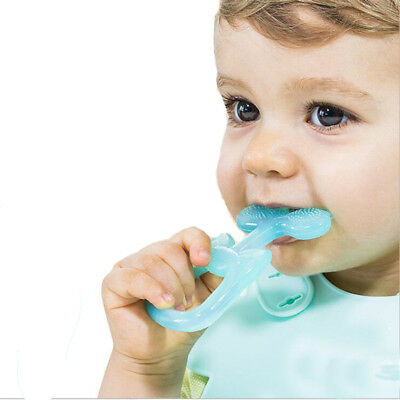 Baby Teething Toys Silicone Teethers Molar Stick BPA Free Dental Care Infant Toy