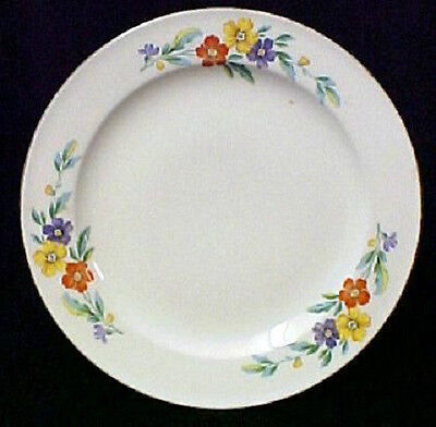 Knowles China 5 Bowls 1 Salad Plate Floral Flower Pattern USA Vintage