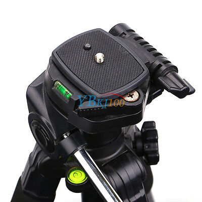 Durable Tripod Quick Release Plate Adapter Head Mount BT For Sony DSLR Camera SP