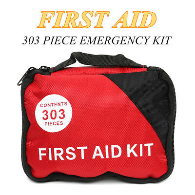 303 Pieces First Aid kit Emergency Rescue Set Kit-A Must Have For Every Family