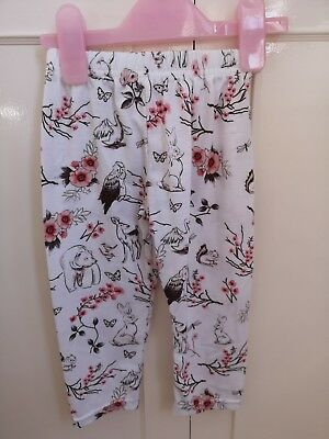 Baby Girls Animal Print Leggings 12-18m