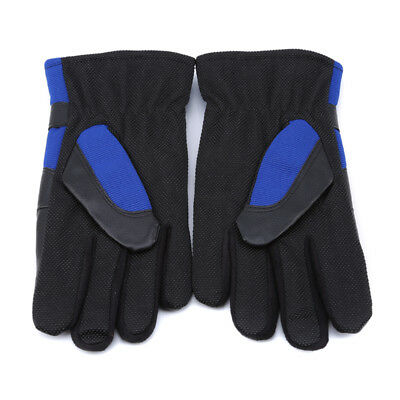Winter Thickening Windproof Warm Motorcycle Cold Proof Full Finger Gloves Z