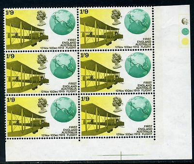 1969 Anniversaries 1/9 'traffic lights' with positional variety 20/6
