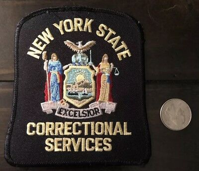 New York State Correctional Shoulder Patch Ny