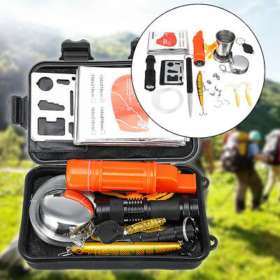 Fishing SOS Emergency Survival Equipment Outdoor Tactical Hiking Camping Tool