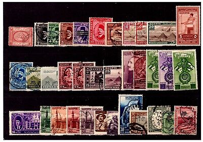 Egypt Stamp Selection Mounted Mint + Used  lot-73