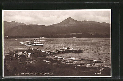 AK Brodick, The Pier and Goatfell
