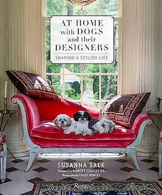 At Home with Dogs and Their Designers - 9780847860906