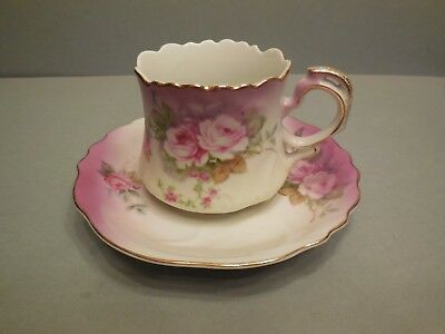 Lefton China Cup And Saucer Set - Hand Painted - Free Shipping