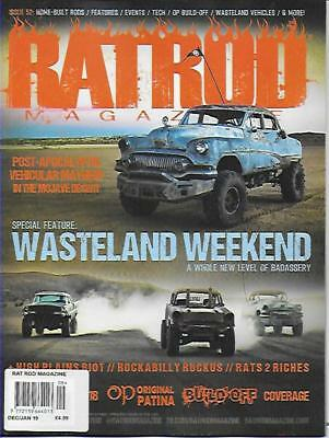 RAT ROD Magazine; No.52 (NEW) *Post included to UK/Europe/USA/Canada