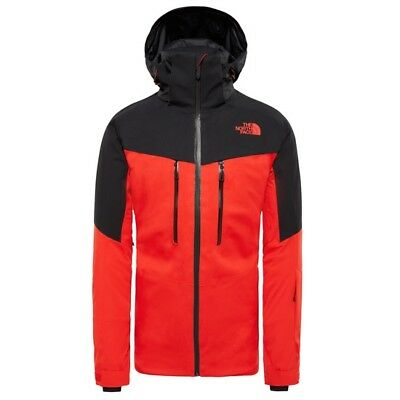 The North Face Chakal Jacket Fiery Red/Tnf Black T93IFZ WU5/ Ropa Nieve Hombre