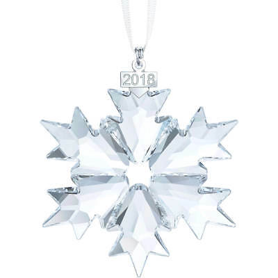 Swarovski Crystal Christmas Large Ornament Annual Edition 2018 5180210 FAST SHIP