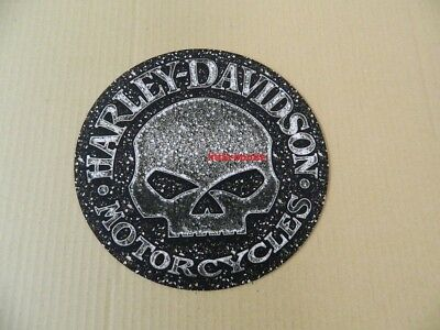 Harley-Davidson Mousepad Mouse Pad Mauspad rund Willie G Skull MO104875