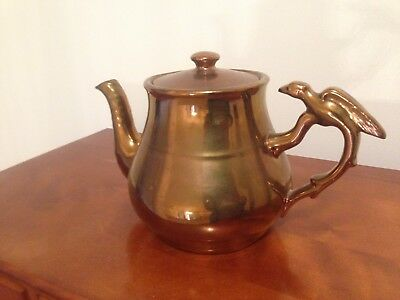 Made In England Lusterware Tea Pot