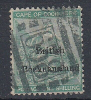 Bechuanaland 1886  1/- Green fine used , SG 8 , Cat £190