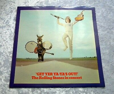 ROLLING STONES Get Your Ya-Ya's Out LP UK 1st PRESSING 1970, UNPLAYED, MINT