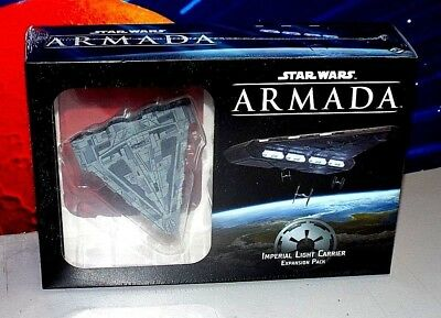 Star Wars Armada Game Imperial Light Carrier Expansion Pack [New, Rare]