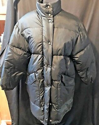 Out Brook OutBrook Winter Puffer Jacket Coat Sz M Black
