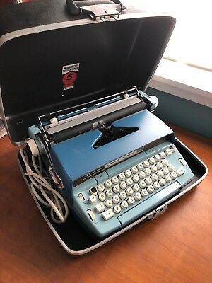 Vintage Smith Corona Coronet Automatic 12 Electric Typewriter With Case