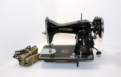 Antique General Sewing Machine Co Electric Champion Model 24