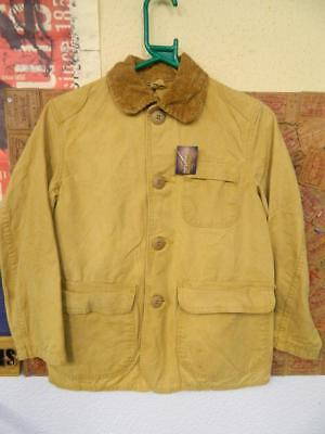Vintage American Hunting Jacket 1970s Childs from JC Higgins Sears Roebuck & Co
