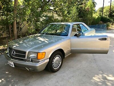 1991 Mercedes-Benz 500-Series  Mercedes-Benz 560SEC 2-door Coupe 1991 - Mint Condition